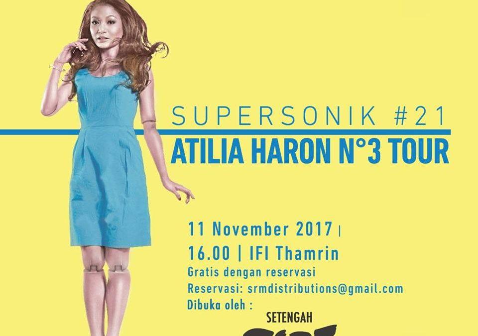Atilia Haron No 3 Album Jakarta Tour